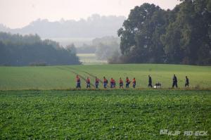 Bild - O-Marsch der JF Dänischenhagen zum 35-jährigen Bestehen