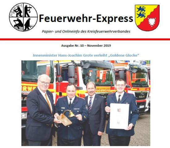 Bild - Feuerwehr-Express Ausgabe Nr. 10