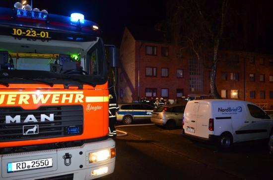 Bild - Kellerbrand, 18 Personen mussten evakuiert werden