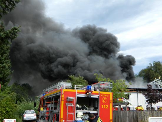 Bild - FEU 3 in Molfsee (Feuer in einem Büro-/Laborgebäude)