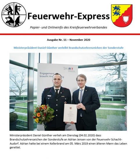 Bild - Feuerwehr-Express Ausgabe 11