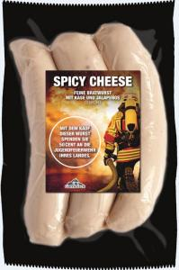 Bild - Erste Hilfe für die Jugendfeuerwehr mit der Gutfleisch Spicy Cheese Feuerwehr Bratwurst