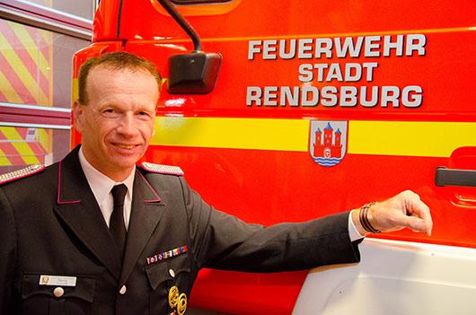 Bild - Martin Schuldt ist neuer Wehrführer in Rendsburg